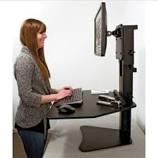 dc300 high rise sit stand desk converter ultimate office