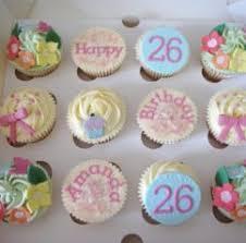 design decorating birthday cupcakes girls 1st birthday