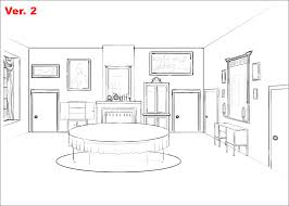 Interior Design Bedroom Drawings How To Draw A Bedroom Google Search Interior Perspective Ref