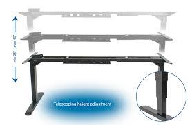 desk v103e vivo vivo electric stand up desk frame w dual motor