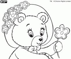 tubby bear noddy character coloring printable game