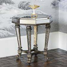 ambella home collection voranado octagonal accent table 27013