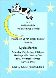 diddle diddle baby shower invitations