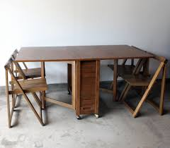 exquisite gateleg dining table and chairs folding ikea