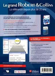traduire bureau en anglais livre coffret numérique le grand robert collins français
