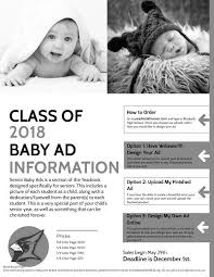 baby yearbook schlekeway laurie senior baby ads for yearbook
