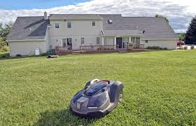 Lawn Care Gadgets by Mowing A Robot Can Cut Your Lawn Trending
