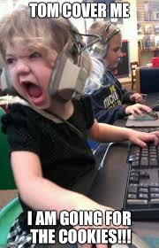 Little Girl Memes - angry little girl gamer latest memes imgflip
