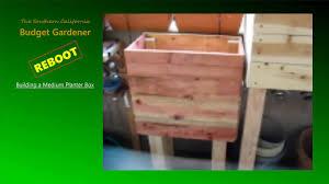 budget garden reboot building a 20 gallon raised planter box