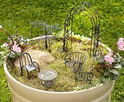 miniature garden furniture scotts of stow