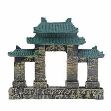 aliexpress buy 8 saim aquarium resin ancient temple ruins