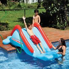 Best Backyard Water Slides Pool Slides Pool Accessories In The Swim Pool Supplies