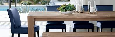 big sur rustic dining room crate and barrel