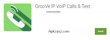 text free apk groove ip free calls text v2 0 4 apk free
