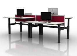 Electric Sit To Stand Desk Electric Sit Stand Desks Genesys Office Furniture