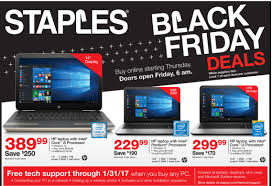 staples black friday deals will include windows laptops surface pro