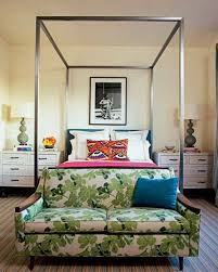 Modern Canopy Bed Canopy Beds Of The Non Princess Variety Little Green Notebook