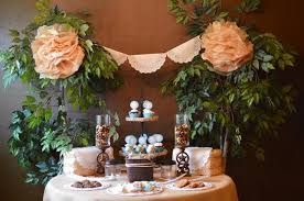 Cowboy Table Decorations Ideas Kara U0027s Party Ideas Shabby Chic Western Wedding Bridal Shower Ideas