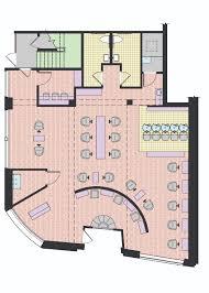 Plan De Loft House Of De Cicco Salon