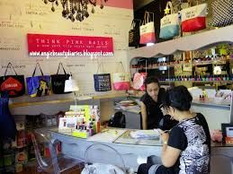 angie beauty diaries think pink nails nail salon review