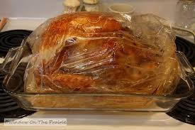 turkey bags roast turkey and gravy window on the prairie