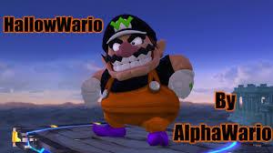 hallowario halloween themed wario super smash bros for wii u