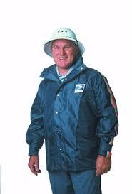 postal uniforms into savings on postal rainwear