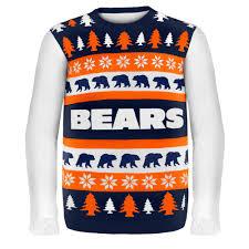 chicago bears nfl sweater wordmark
