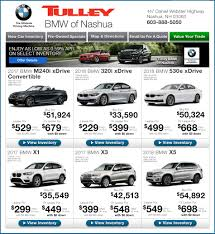 bmw lease programs bmw specials in nashua nh tulley bmw of nashua
