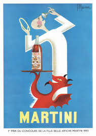martini vintage chequered past vintage french colour advertisements