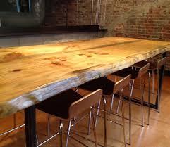 Slab Table Etsy by Wonderful Design Ideas Wood Slab Tables Fine Table Etsy Dining Table