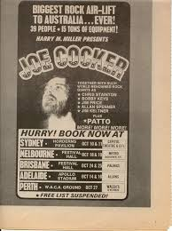 milesago performance tours by overseas acts joe cocker patto