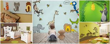 chambre enfant jungle decoration chambre jungle fabulous dco chambre enfant jungle les