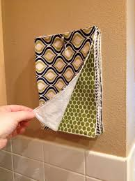diy multi use kitchen towels fabric squares girlfriends and towels