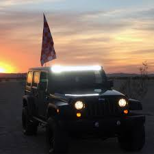 jeep cj prerunner tuff stuff led light bar combo kit 50 u201d 20 u201d u0026 2 u201dx2 u201d cube tuff