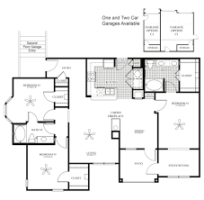 Luxury Apartment Floor Plan by The Blue Ridge Apartments