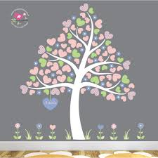 magical heart tree wall art stickers heart tree wall stickers