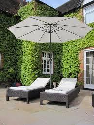 Bali Rattan Garden Furniture by Pair Of Bali All Weather Grey Rattan Garden Furniture Loungers