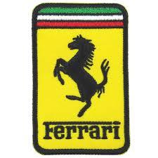 ferrari horse logo motor nice patch