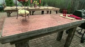 Diy Patio Table Diy Outdoor Furniture Ideas Diy Regarding Patio Furniture