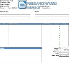 Ms Excel Invoice Template It Invoice Template Free Excel Invoice Template Create Invoices