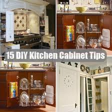 Kitchen Cabinet Organization Tips Top 10 Diy Kitchen Cabinet Organizing Tips Diy Home Things