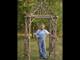 How To Build A Wooden Pergola by How To Make A Diy Rustic Pergola Youtube