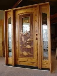Carved Exterior Doors Carved Wood Door Moose Interior Door Moose And Doors