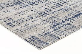 Grey Runner Rug Abstract Modern Blue Grey Runner Rug Floorsome