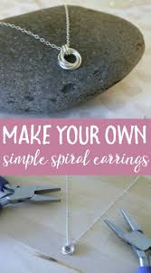 create your own necklace learn to make your own jewelry with this simple tutorial diy