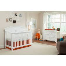 jonesport convertible crib white westwood design babies