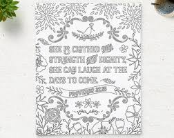 coloring god printable bible verse psalm 46 5