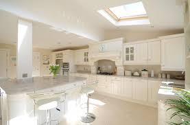 ivory kitchen ideas stunning ivory painted kitchen with kashmir white granite