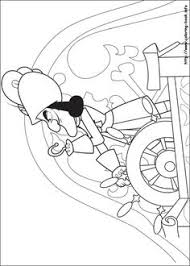 coloriage jake les pirates du pays imaginaire coloring pages
